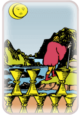 eight of cups - tarot card of the day