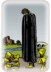 five of cups - tarot card of the day