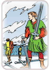 five of swords - tarot card of the day