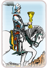 knight of cups - tarot card of the day