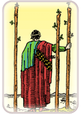 three of wands - tarot card of the day