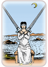 Two of Swords - weekly tarot reading online