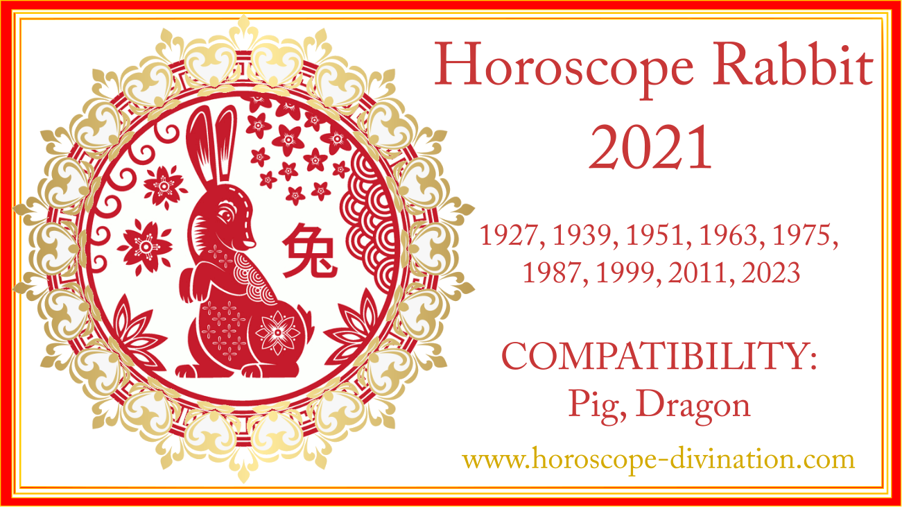 chinese New Year 2021 for Rabbit
