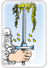Ace of Swords - weekly tarot reading online