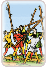 Five of Wands - weekly tarot reading online