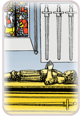 Four of Swords - weekly tarot reading online