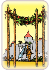 Four of Wands - weekly tarot reading online