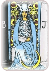 Ten High Priestess - weekly tarot reading online