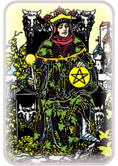 King of Pentacles - weekly tarot reading online