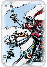 Knight of Swords - weekly tarot reading online