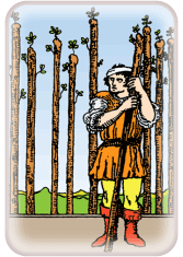 Nine of Wands - weekly tarot reading online