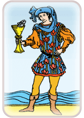 Page of Cups - weekly tarot reading online