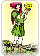 page of pentacles - weekly tarot reading online