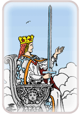 Queen of Swords - weekly tarot reading online