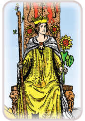 Queen of Wands - weekly tarot reading online