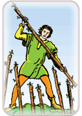 Seven of Wands - weekly tarot reading online