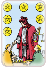 Six of Pentacles - weekly tarot reading online