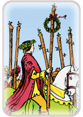 Six of Wands - weekly tarot reading online