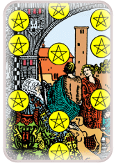 Ten of Pentacles - weekly tarot reading online
