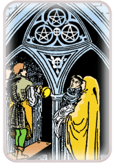 Three of Pentacles - weekly tarot reading online