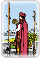 Two of Wands - weekly tarot reading online