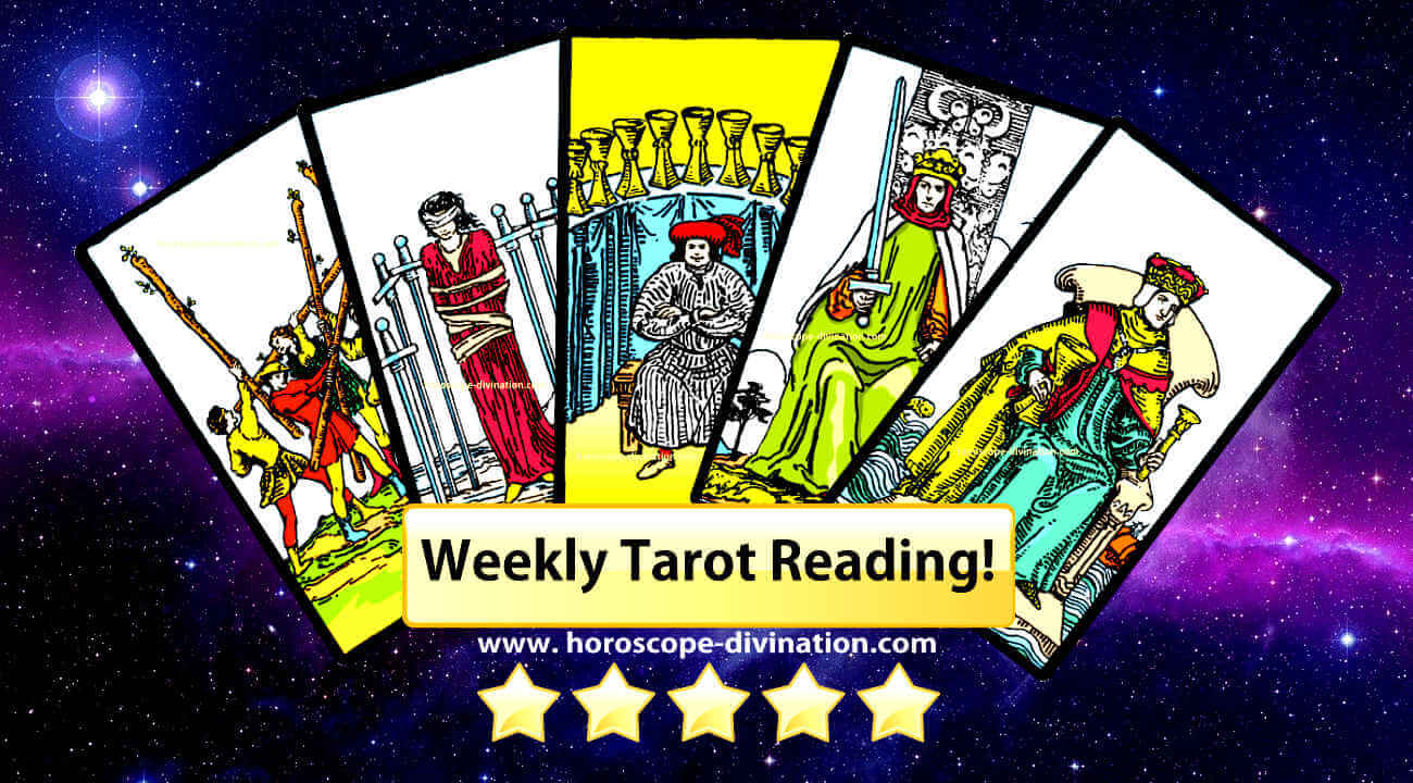 weekly tarot reading for free